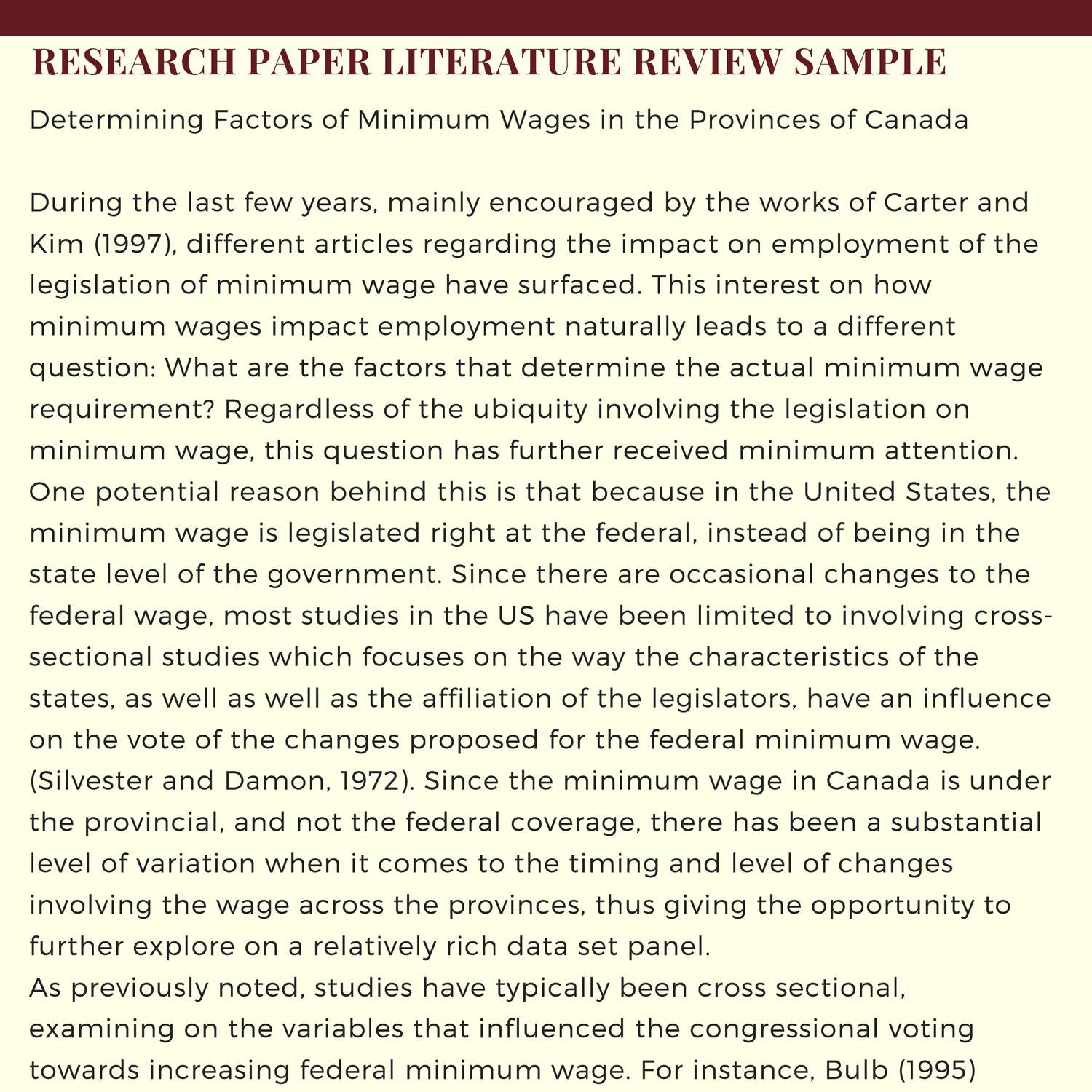 019 Research Paper Literature Review Samplecluding Impressive Including In Meaning Of How To Write Related Pdf Full