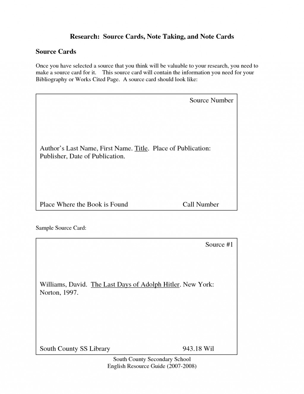 019 Research Paper Note Cards Card Templates 442160 Stupendous Mla Format Examples Large