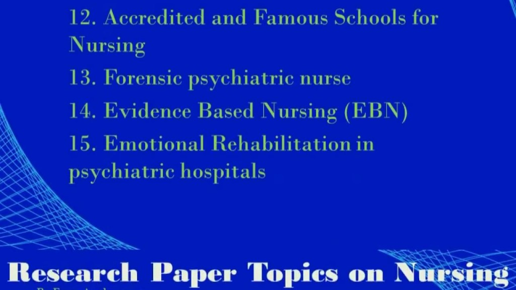019 Research Paper On Nursing Wondrous Topics Peer Reviewed Articles Shortage For Large