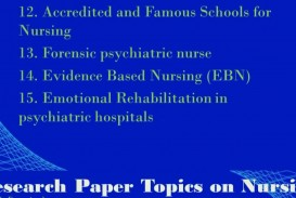 019 Research Paper On Nursing Wondrous Topics Peer Reviewed Articles Shortage For