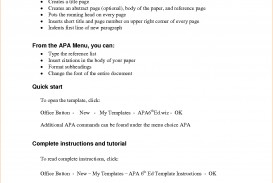 019 Research Paper Outline Template Apa Impressive Doc For Elementary Students Pdf