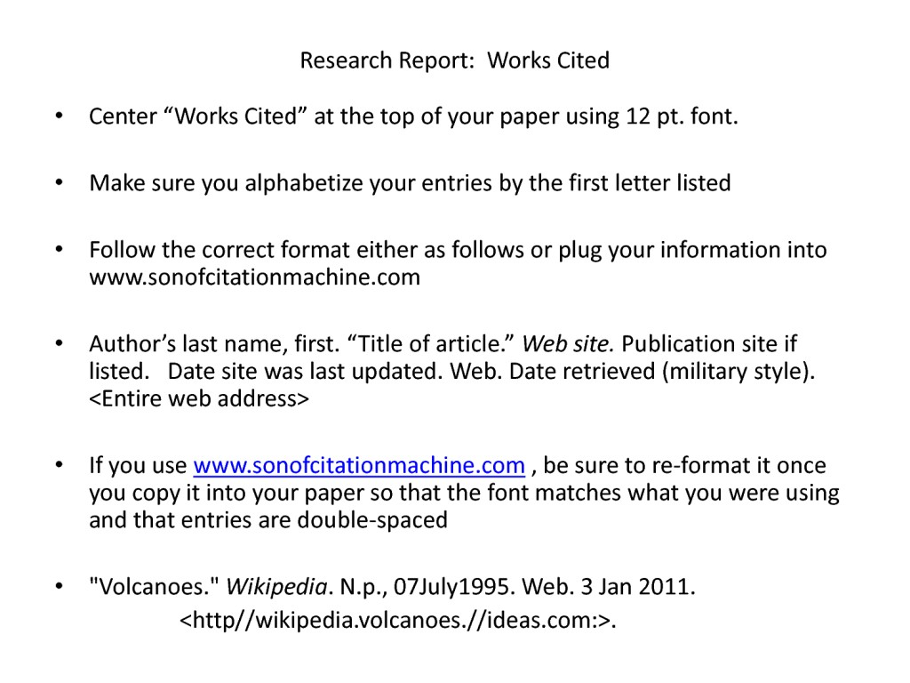 019 Research Paper Works Cited Page Mla 82970 Citation Imposing Format In Text Large