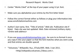 019 Research Paper Works Cited Page Mla 82970 Citation Imposing Format In Text