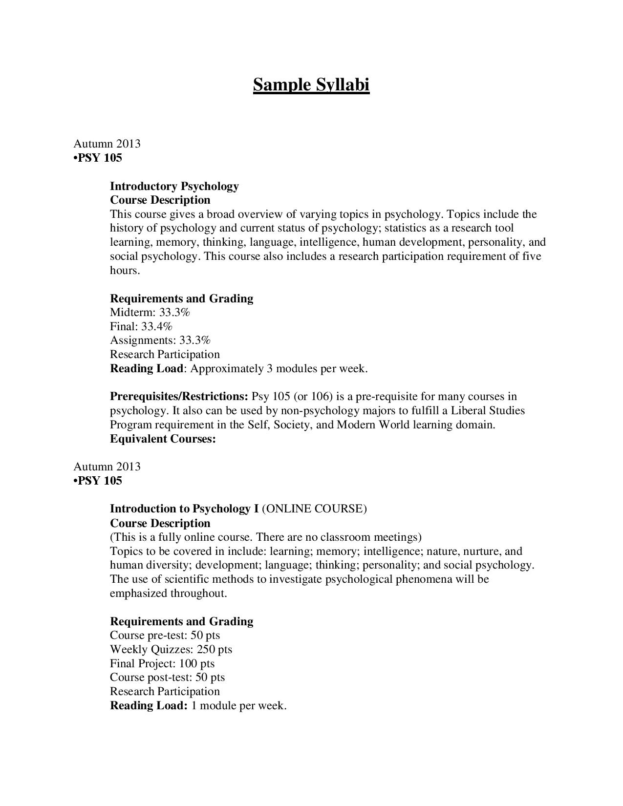 019 Updated Syllabi Page Psychology Researchs Surprising Research Papers For Topic Examples Online Full