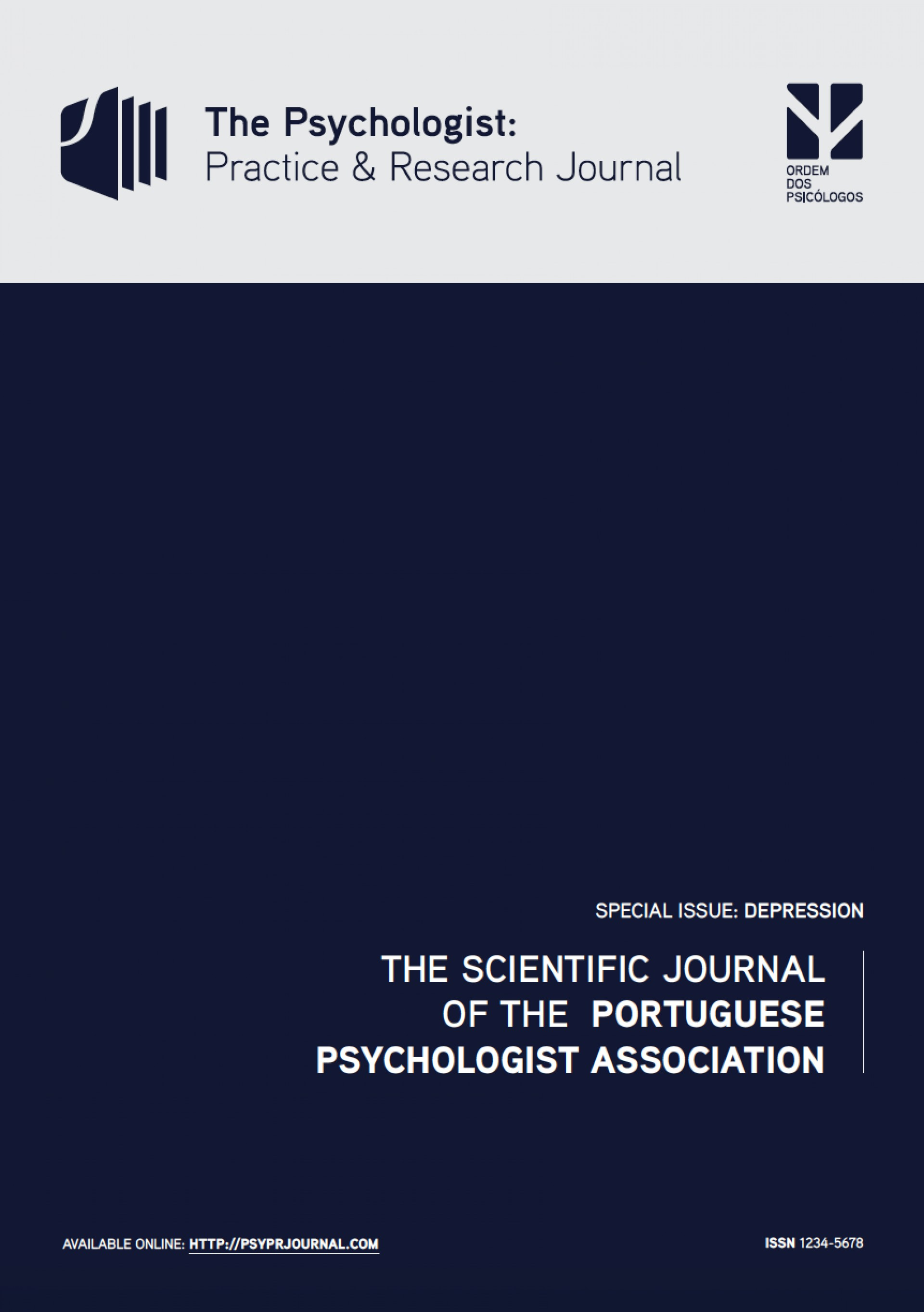 020  Cover Pprj Depression1 Free Psychology Researchs Online Impressive Research Papers1920