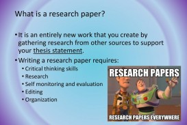 020 Career Research Paper Thesis Statement Stirring For My Good