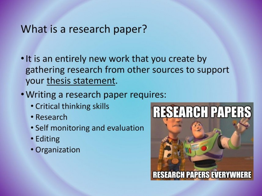 020 Career Research Paper Thesis Statement Stirring Good For My