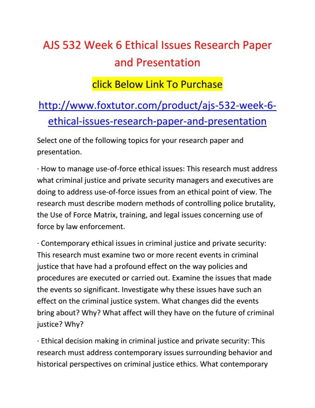 020 Criminal Justice Research Paper Topics 20law Enforcement Ideas Samples Ajs Week20 Fearsome 100 Large