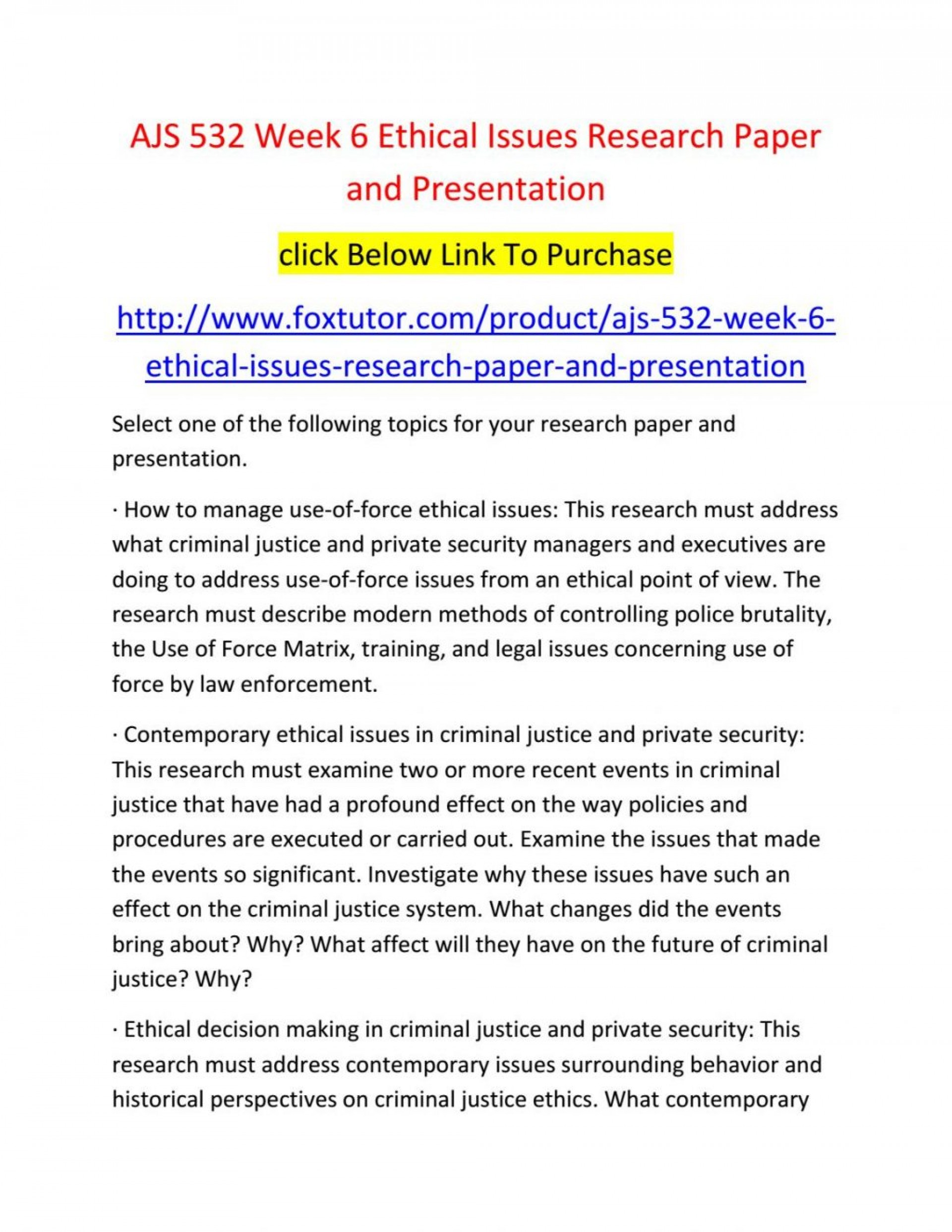 020 Criminal Justice Research Paper Topics 20law Enforcement Ideas Samples Ajs Week20 Fearsome 100 1920