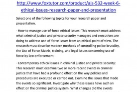 020 Criminal Justice Research Paper Topics 20law Enforcement Ideas Samples Ajs Week20 Fearsome 100
