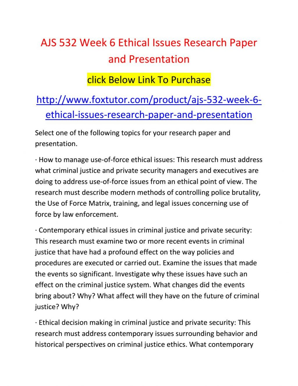 020 Criminal Justice Research Paper Topics 20law Enforcement Ideas Samples Ajs Week20 Fearsome 100 Full