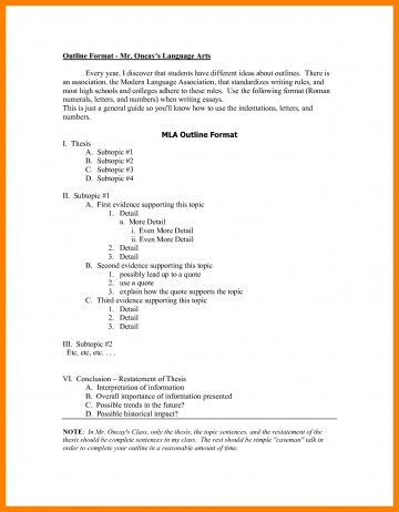 020 High School Outline Format Mla Research Paper Example Of Examples Stupendous Apa Unique Ideas For Guidelines 360