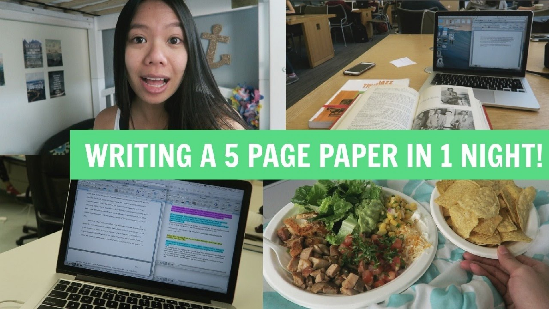 020 How To Write Page Research Paper In One Night Phenomenal A 10 1920