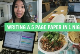 020 How To Write Page Research Paper In One Night Phenomenal A 10 320