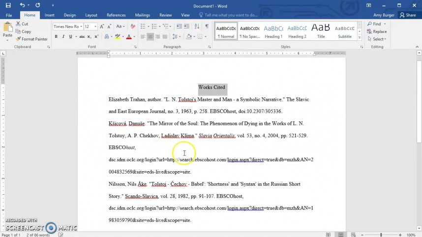 020 Maxresdefault Mla Works Cited Citation Example Research Unusual