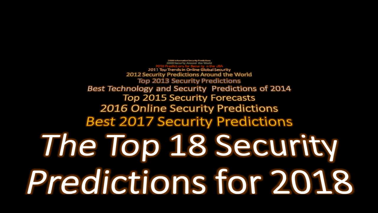 020 Predictions 2018 Cover  5 Research Paper Cyber Security Unique IdeasFull