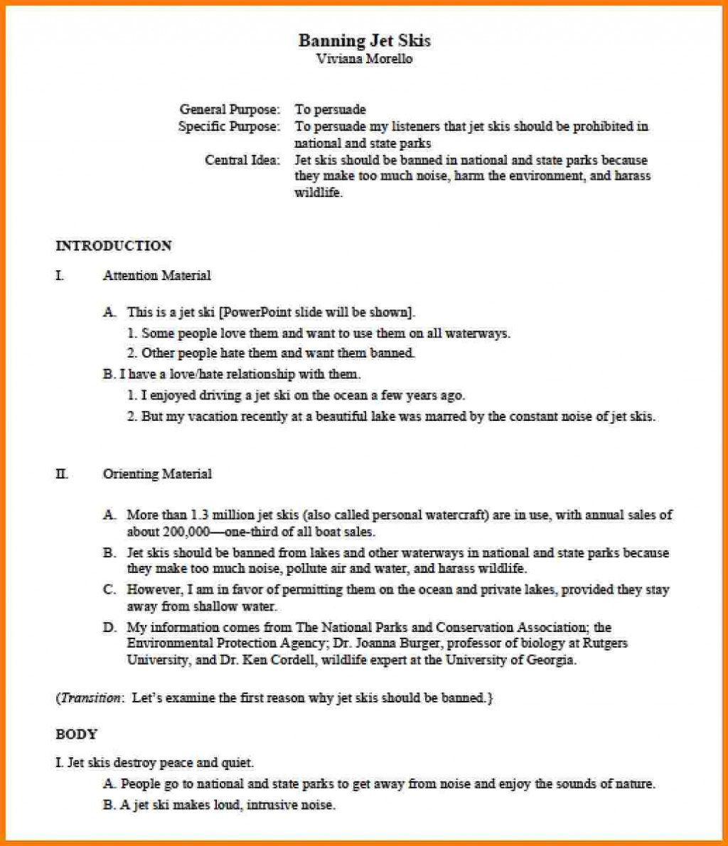 020 Research Paper Apa Example Outline Template 84674 Outstanding 2018 Large
