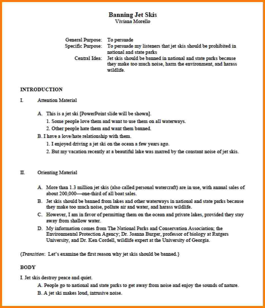 020 Research Paper Apa Example Outline Template 84674 Outstanding 2018 Full
