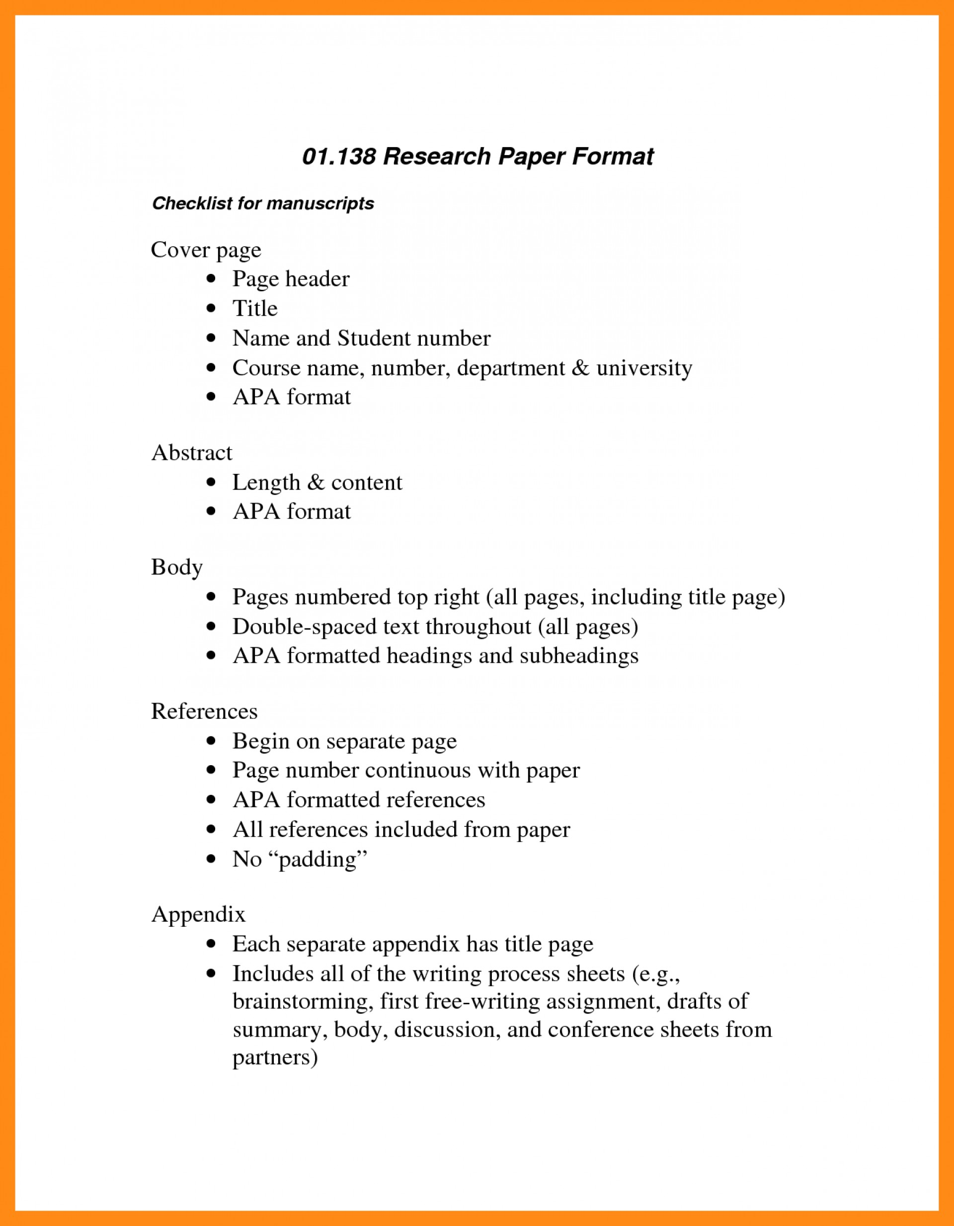 020 Research Paper Apa Outline 63375 Amazing Format Sample Examples 1920