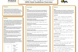 020 Research Paper Apaposter09 Apa Format Reference Unique Page References List
