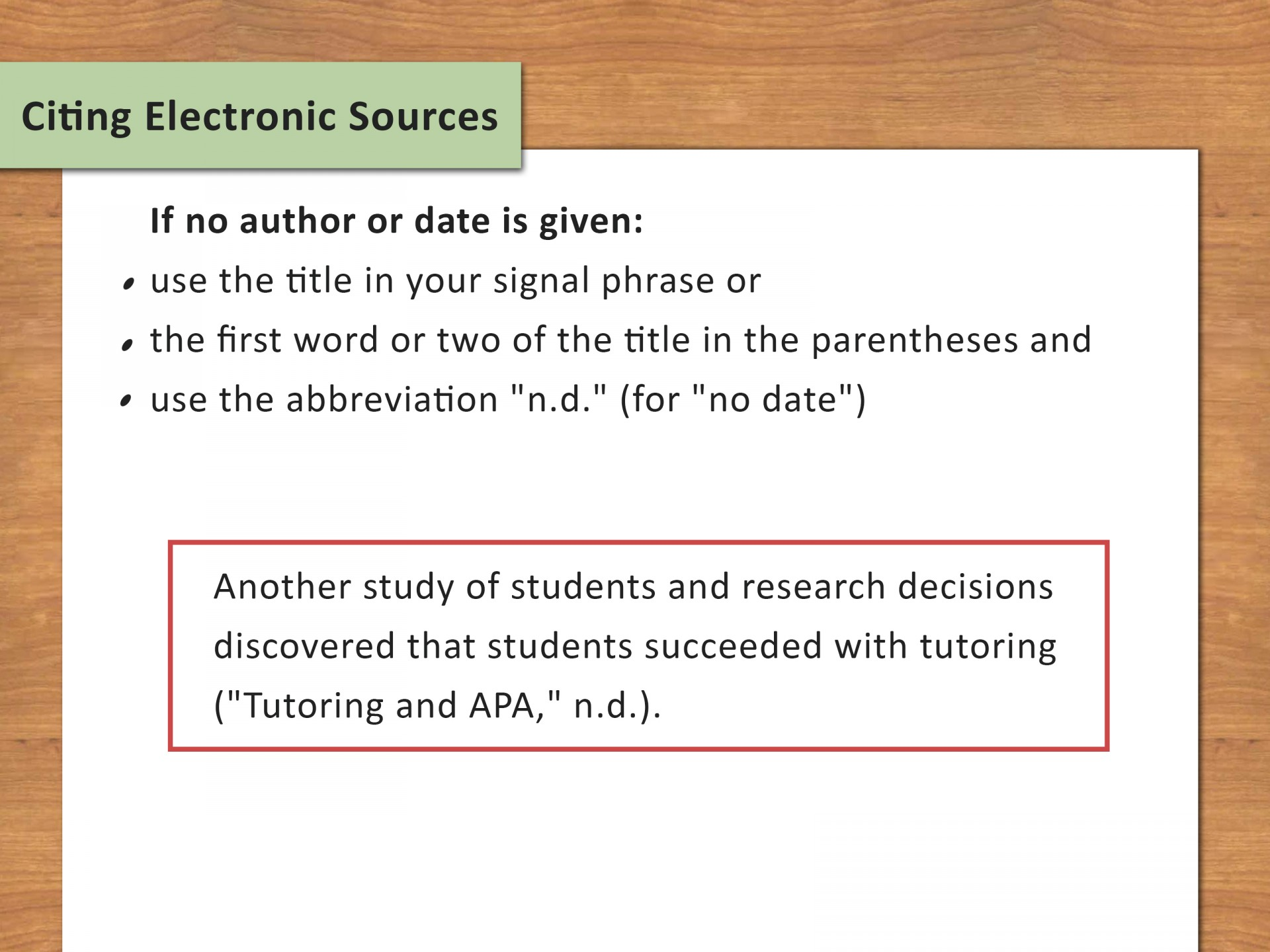 020 Research Paper Citing Sources In Paragraph Apa Use Internal Citations Step Impressive How To Cite A Style 1920