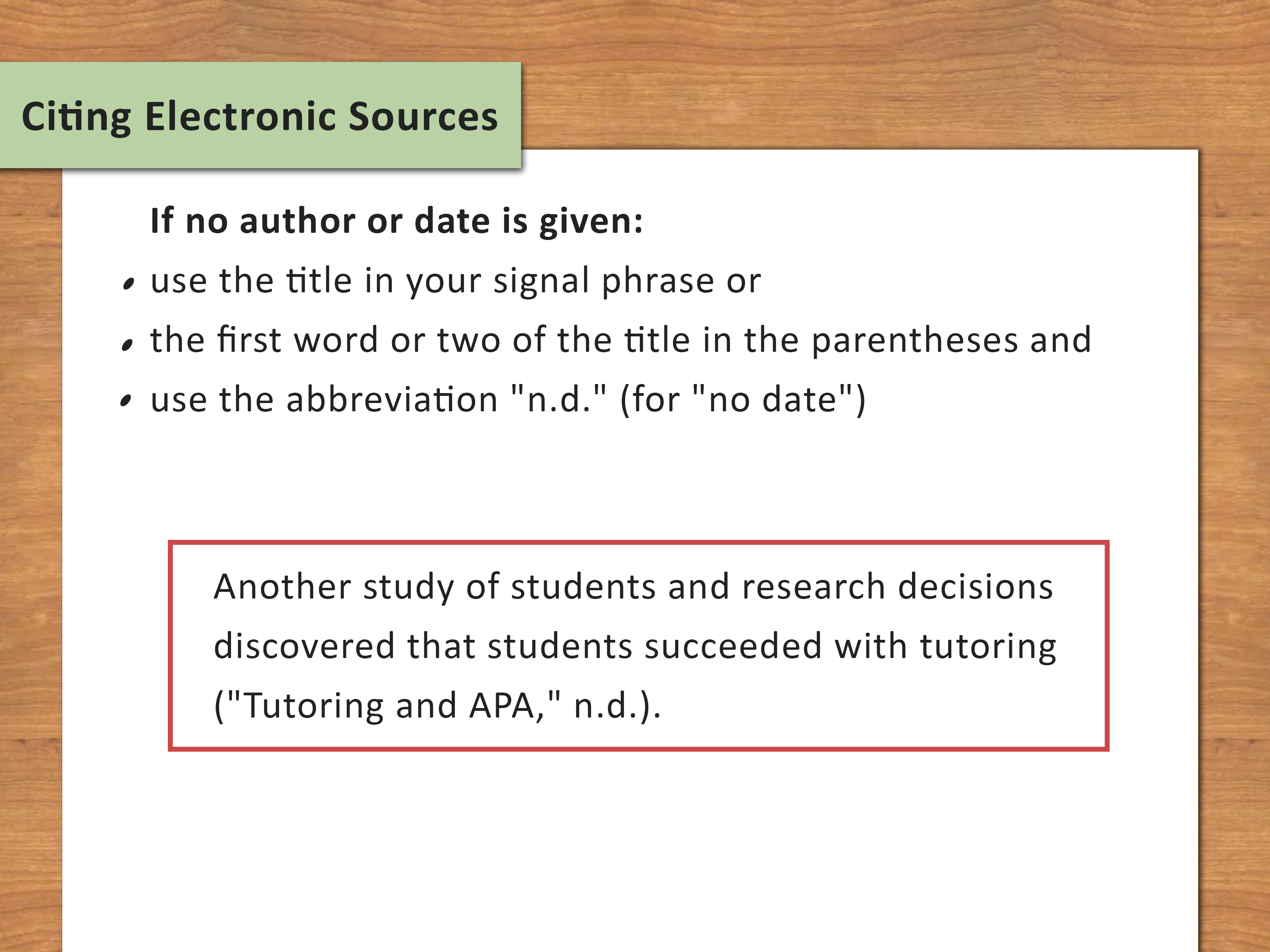 020 Research Paper Citing Sources In Paragraph Apa Use Internal Citations Step Impressive How To Cite A Style Full