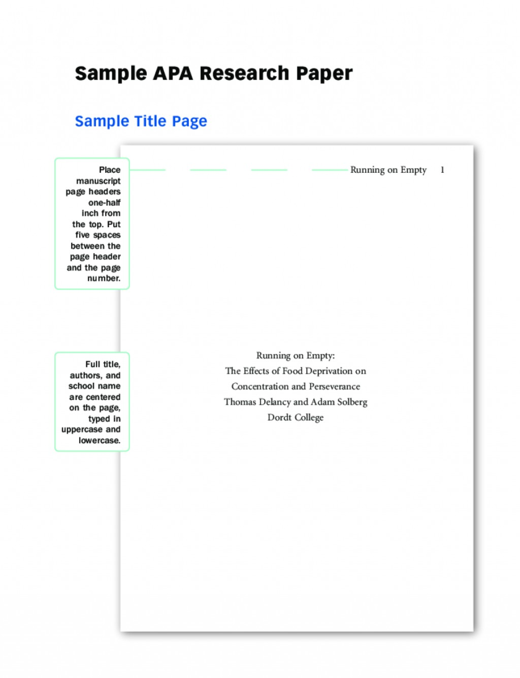 020 Research Paper Cover Page Template Apa Format Title Examples And Guide L Breathtaking Mla Large