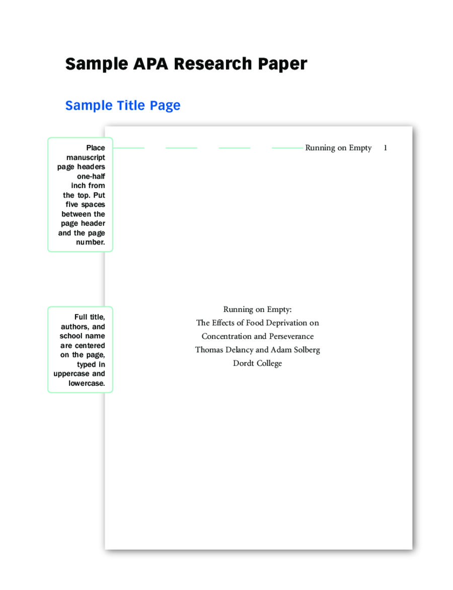 020 Research Paper Cover Page Template Apa Format Title Examples And Guide L Breathtaking Mla Full
