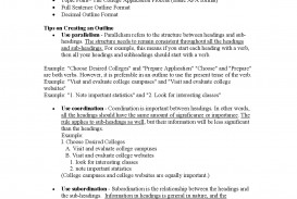020 Research Paper High School Outline Template Dreaded Example