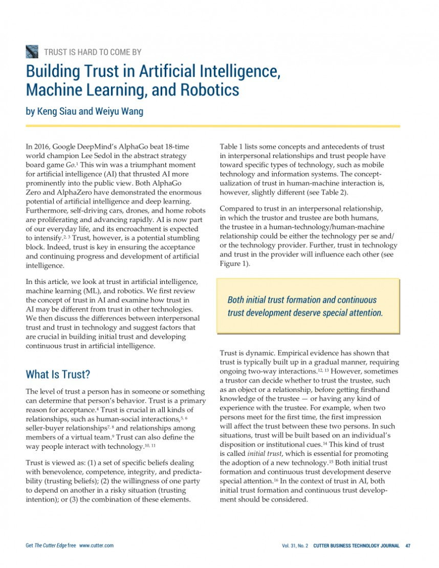 021 Artificial Intelligence Research Paper Topics Formidable 2017