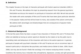 021 Autism Research Paper Examples Top