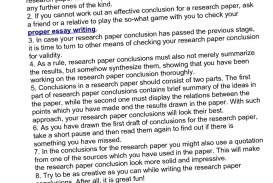 021 Conclusion Of Research Paper On Example 14421 Incredible A About Bullying Writing Good How To Write The Pdf