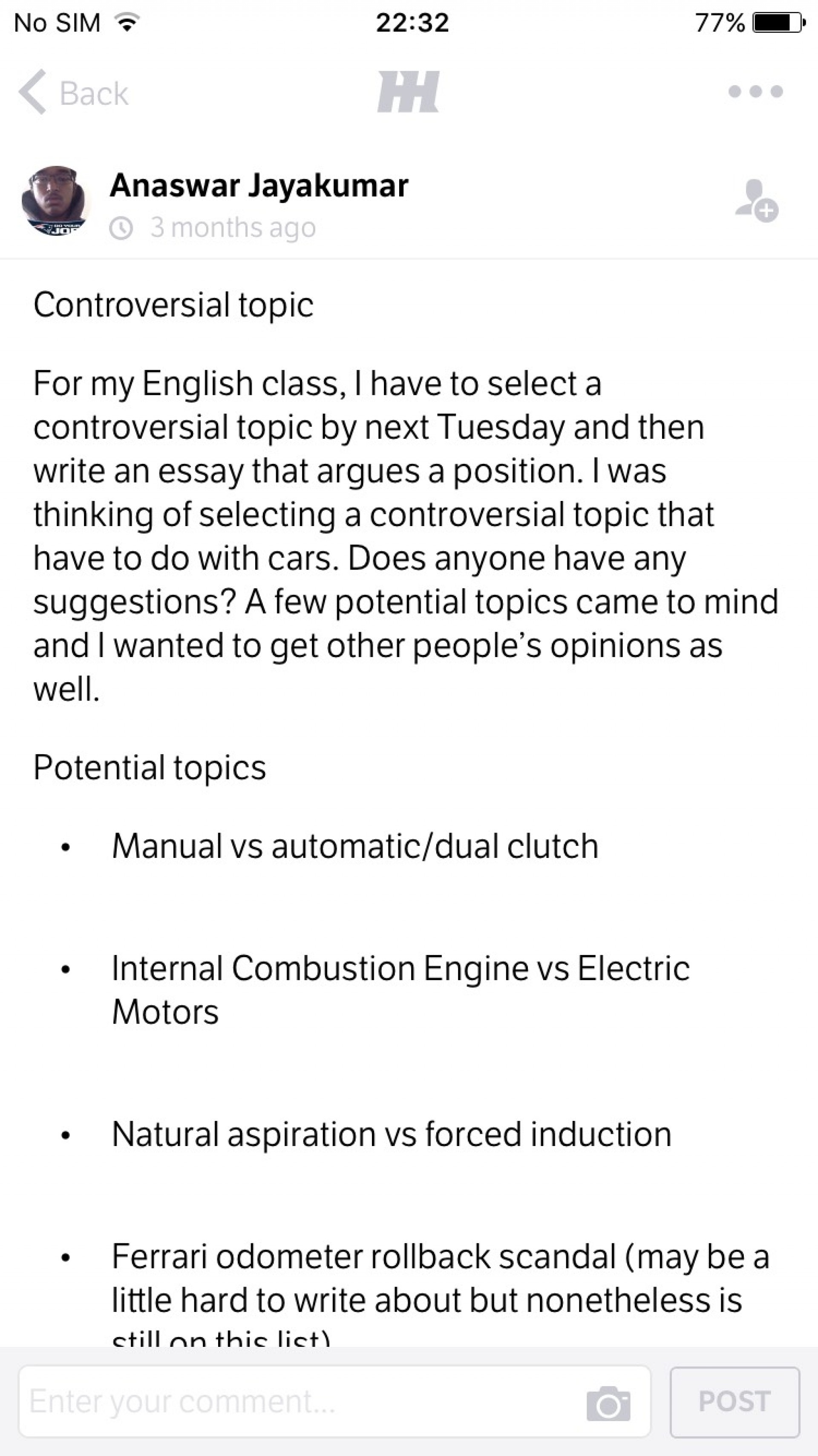 021 Controversial Topic Essay Topics Example Research Paper Outline Issue20 Persuasive For Middle Breathtaking School Writing Prompts Schoolers Students 1920