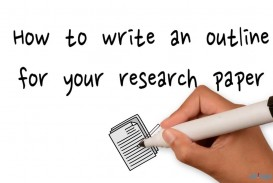 021 Example Of An Outline For Literary Research Paper Striking A