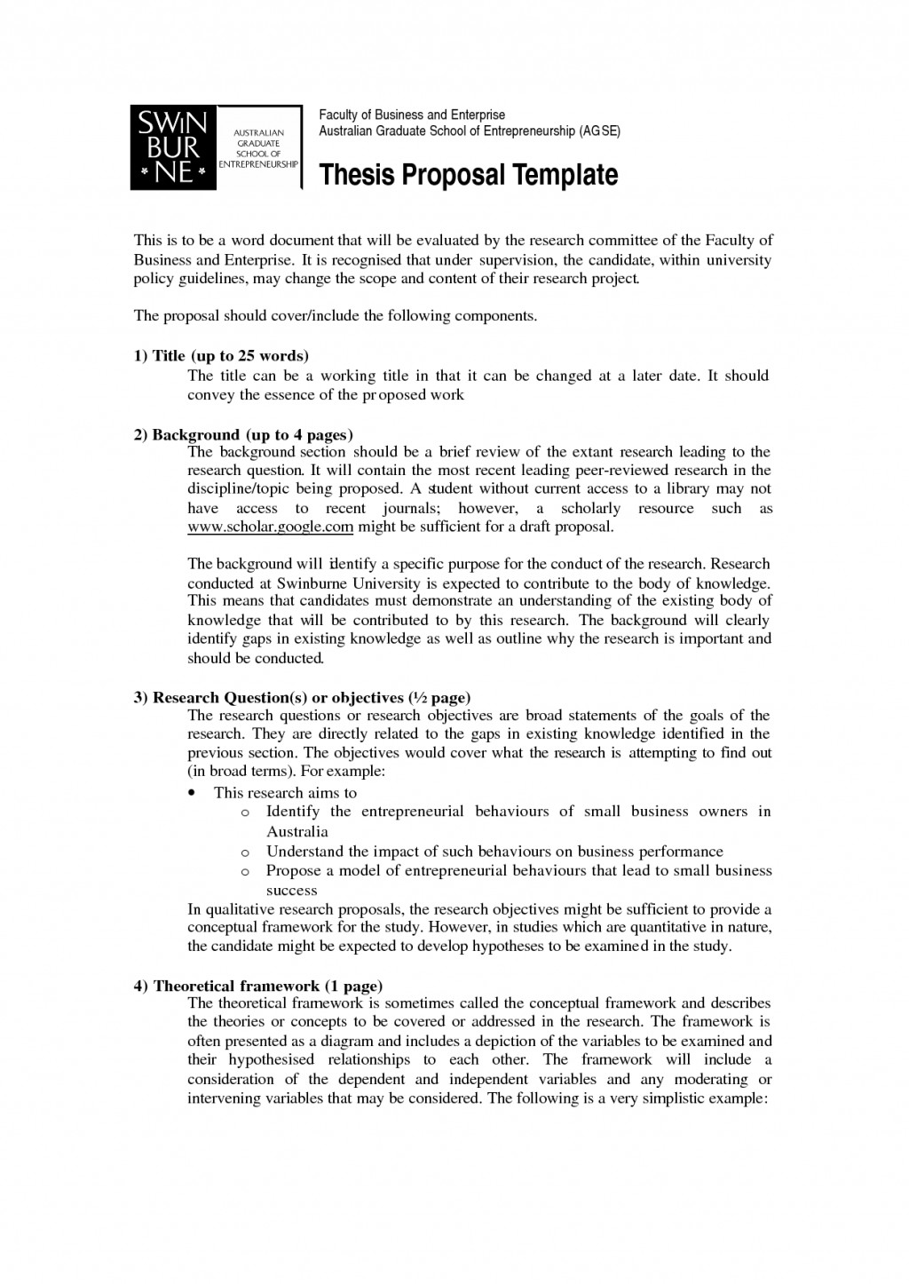 021 How To Write Short Proposal For Research Paper Breathtaking A Large
