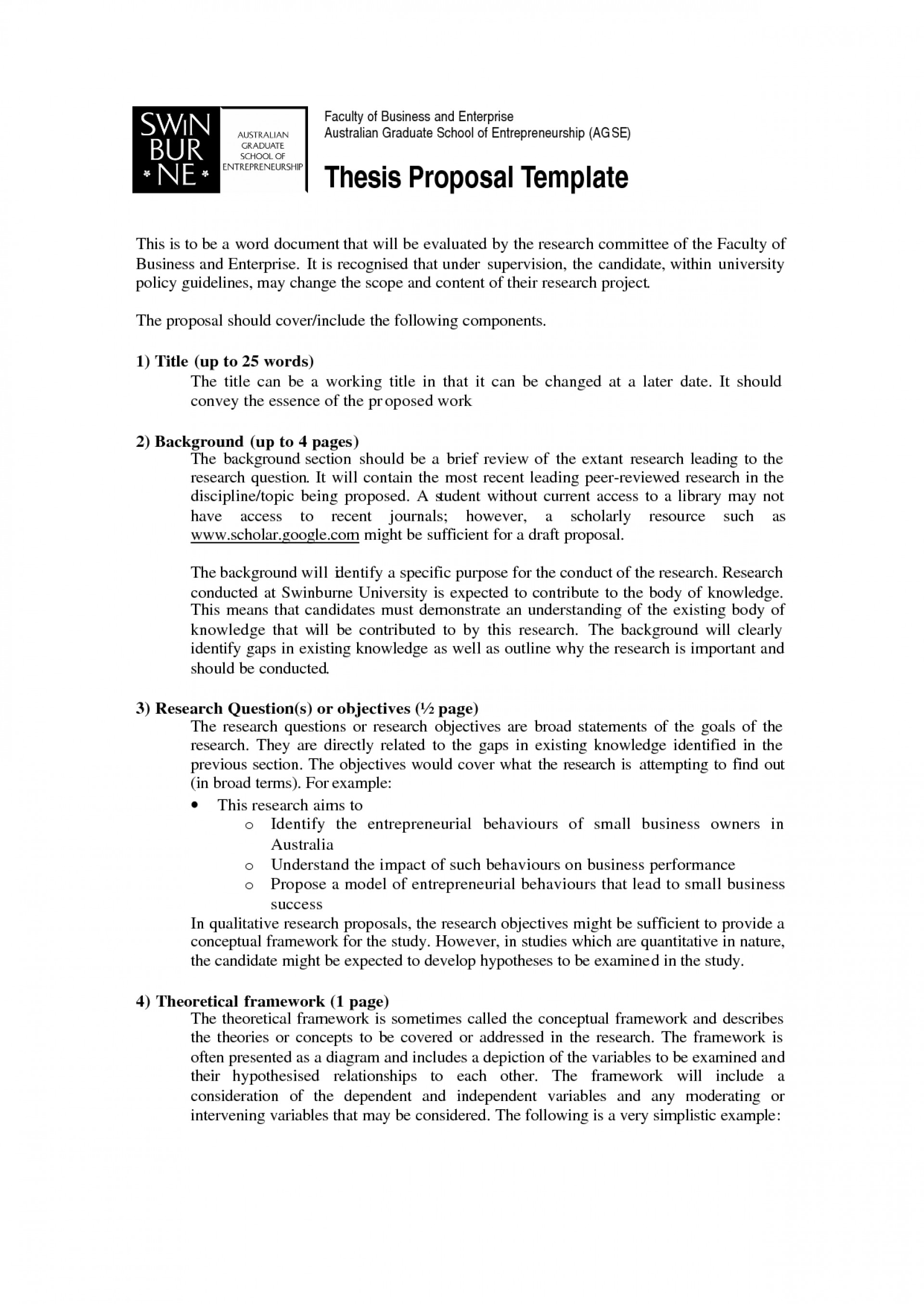 021 How To Write Short Proposal For Research Paper Breathtaking A 1920