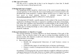 021 How To Write Short Proposal For Research Paper Breathtaking A
