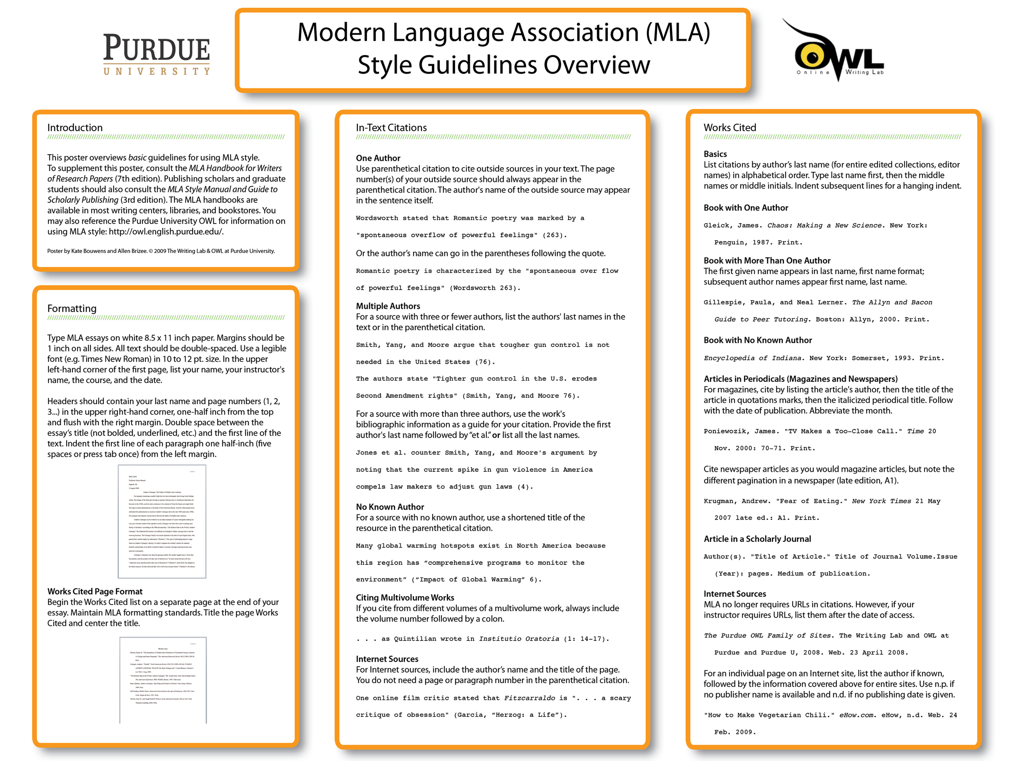 021 In Text Citation Book Mla Mlaposter09 Research Best Page Number Comic Full