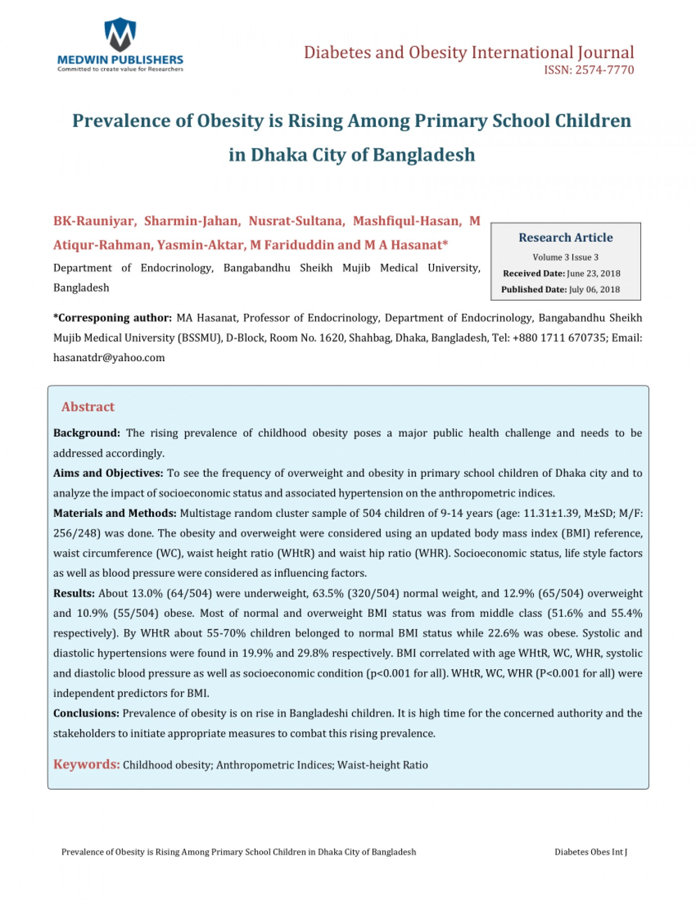 021 Largepreview Primary Research Article On Childhood Obesity Imposing 1400