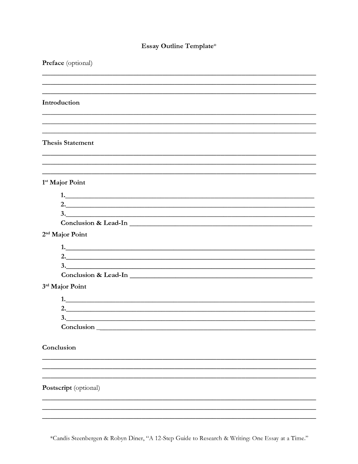 021 Outlinetemplate English Research Paper Outline Beautiful Sample Full
