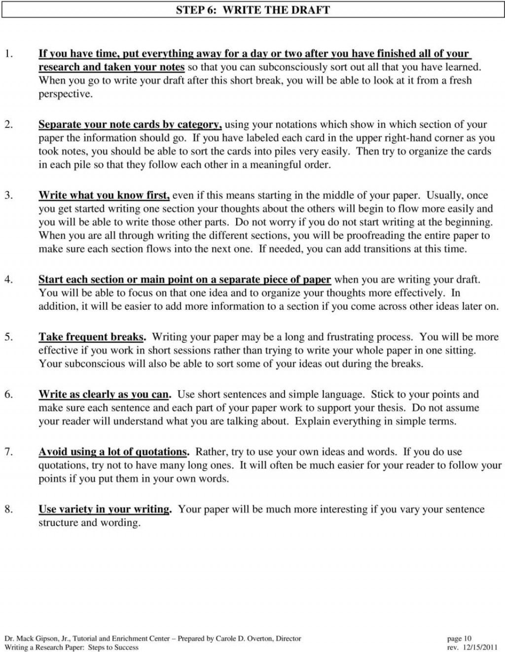 021 Page 11 Steps Writing Research Stunning 12 Paper Large