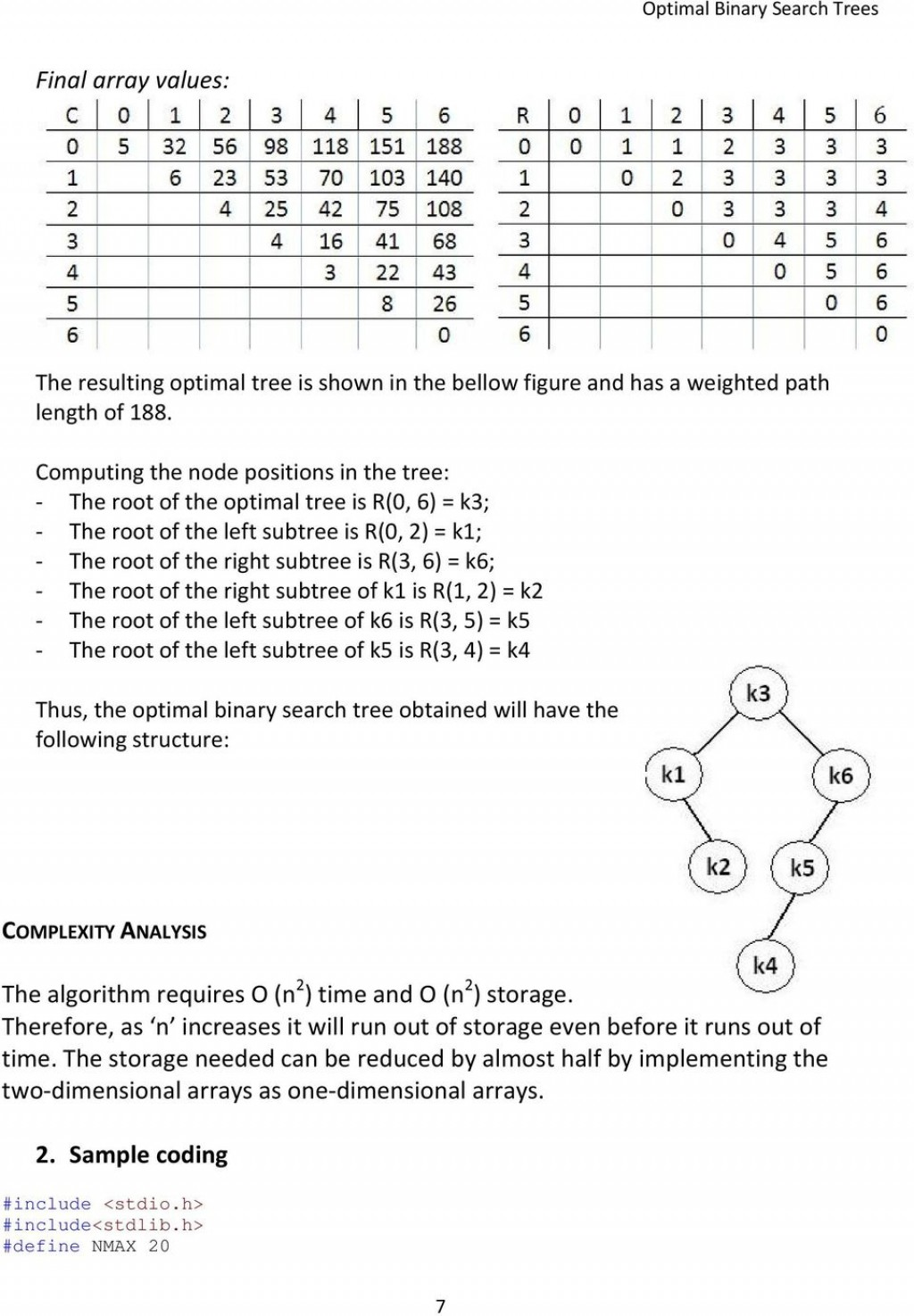 021 Research Paper Binary Search Tree Papers Page 7 Formidable Large