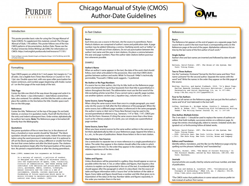 021 Research Paper Chicago Style In Text Citation Sample Wondrous