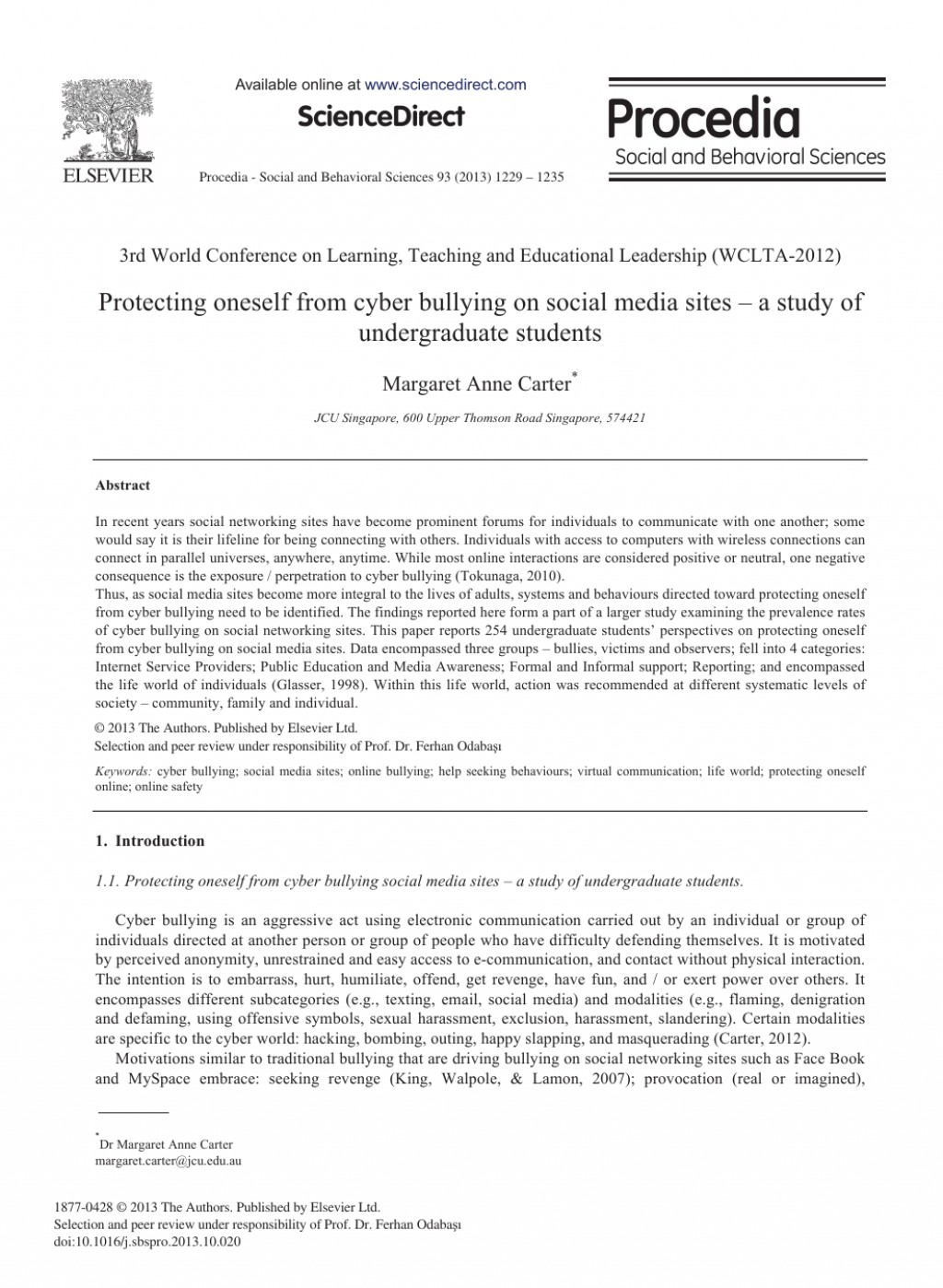 021 Research Paper Cyberbullying Questions Awesome Large