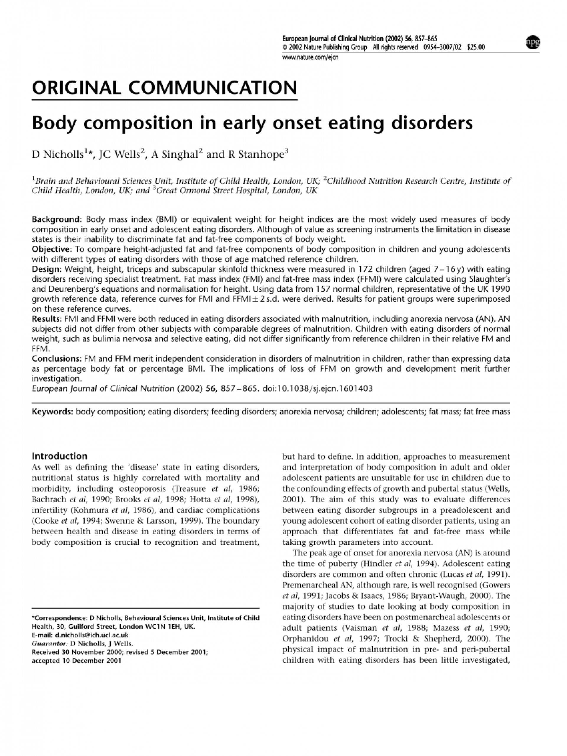 021 Research Paper Free Papers On Eating Disorders Wondrous 1920