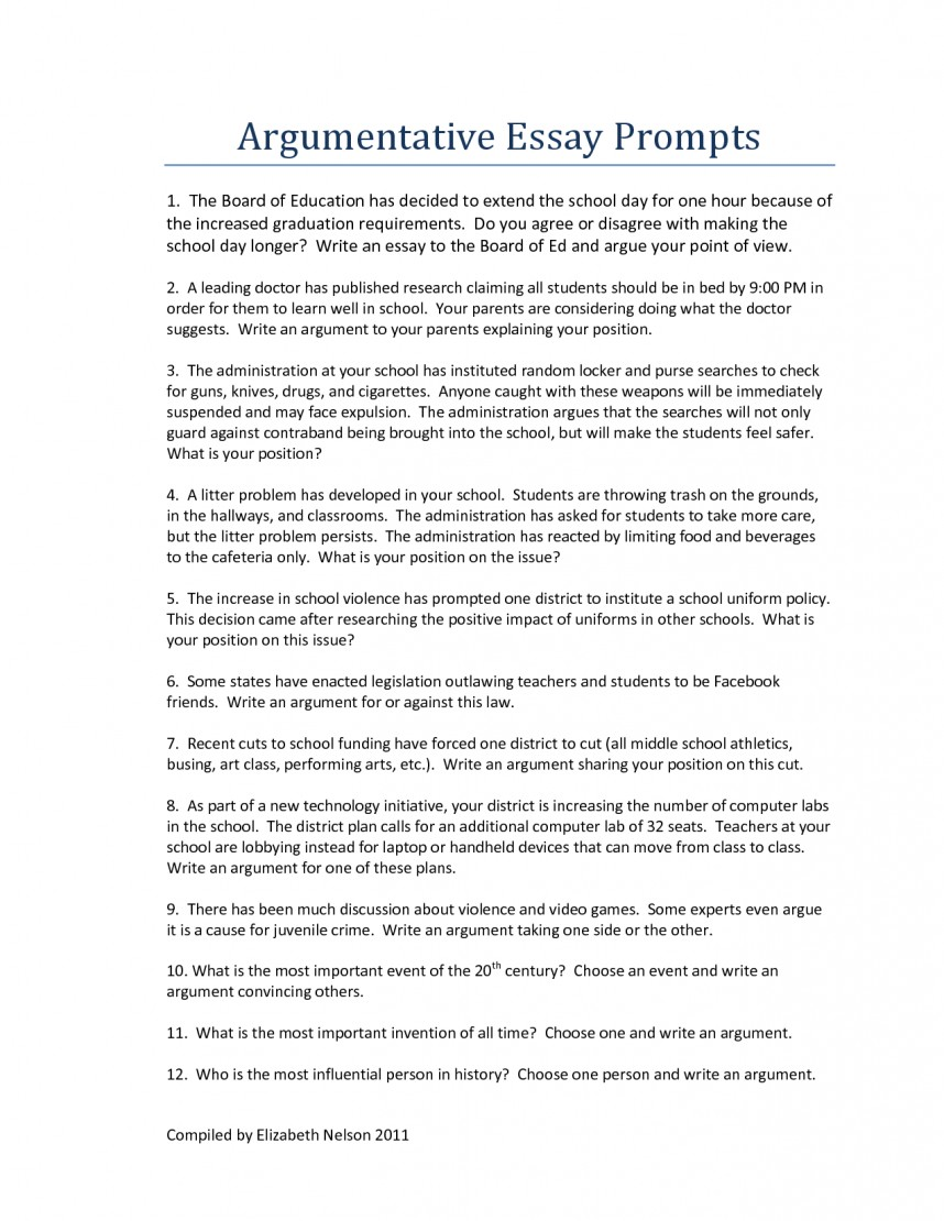 021 Research Paper Good Argumentative Essay Topics Middle School College Staggering Education