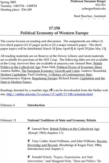 021 Research Paper Political Economy Topics Page 1 Awesome Global International 360