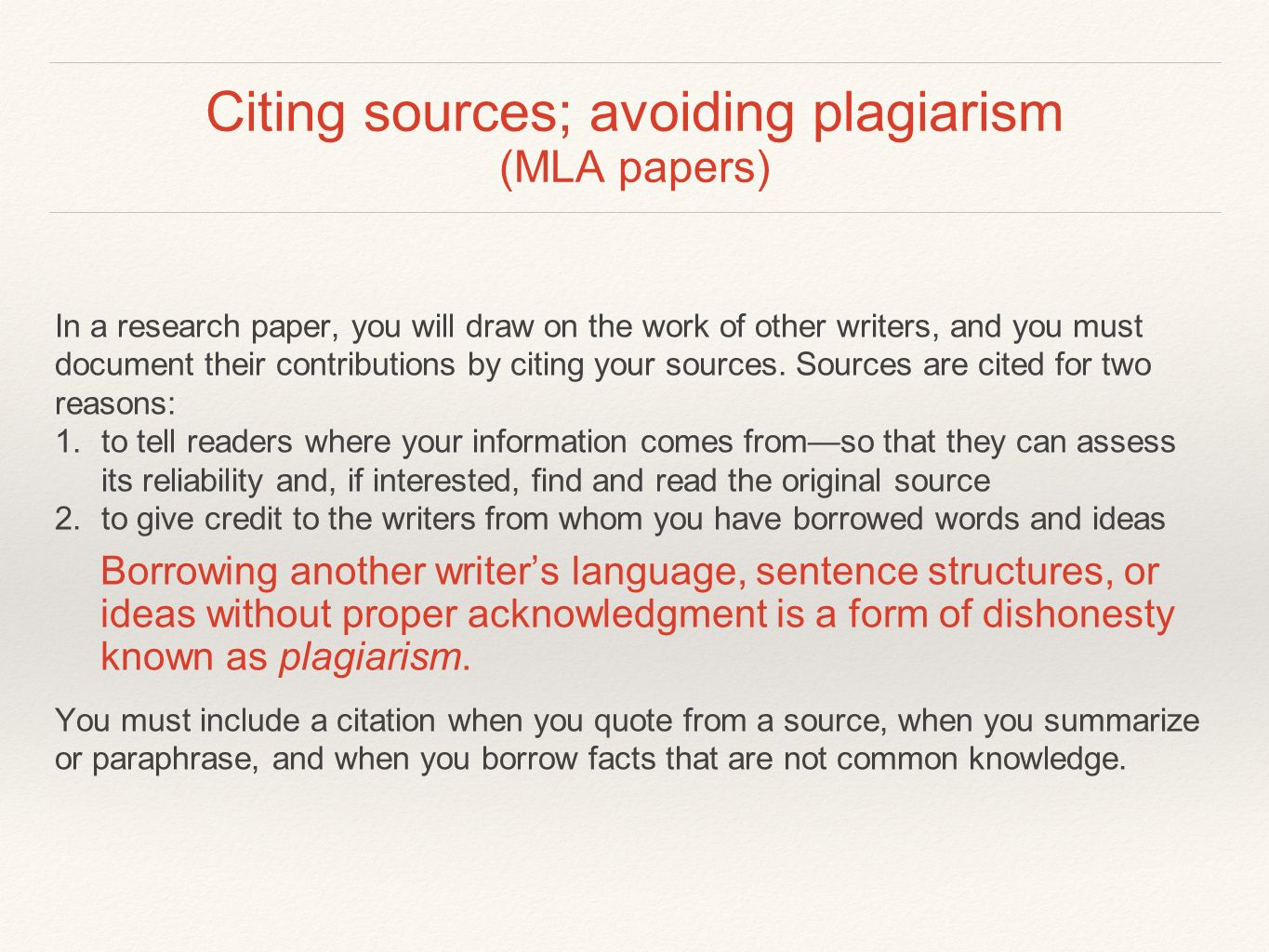 021 Research Paper Slide 1 Citing Staggering Sources Example Correct Way To Cite In A How Without An Author Full