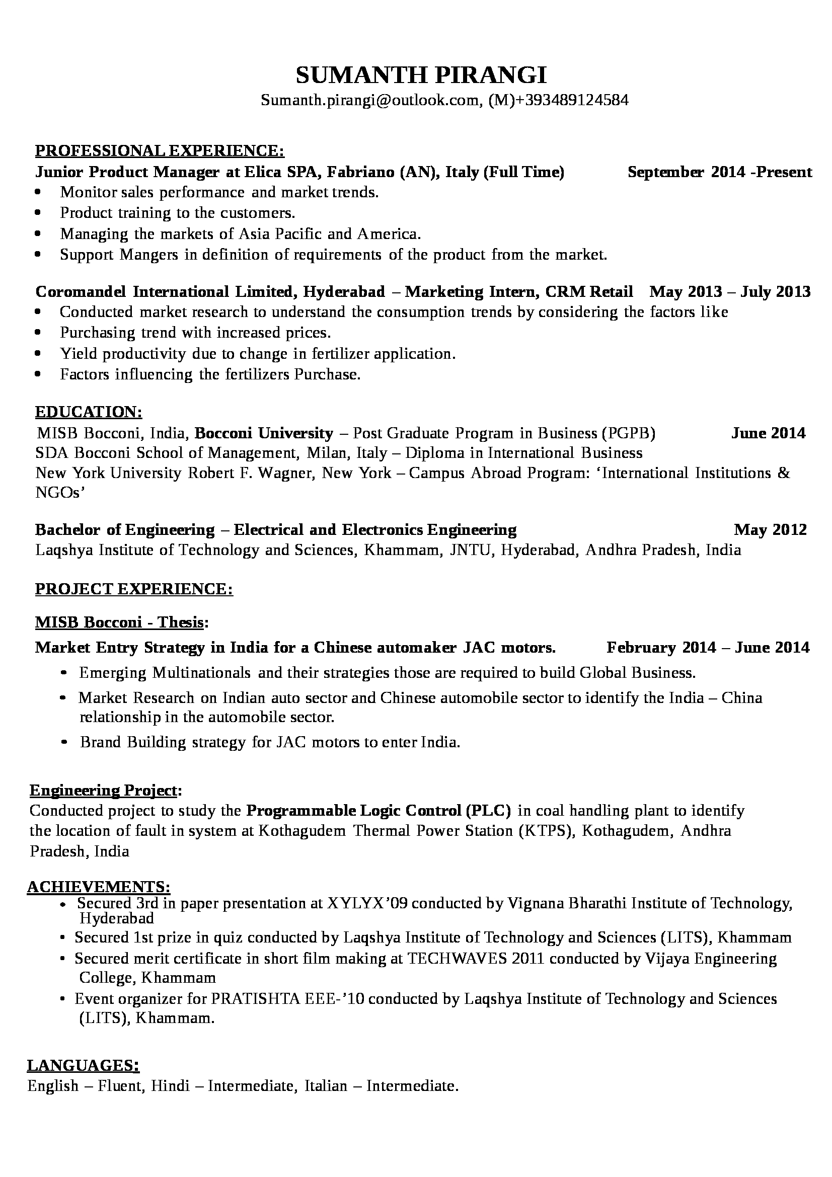 021 Research Paper Sumanth Pirangi Cv Essay On Education System In India And Magnificent Abroad Full