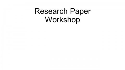 021 Research Paper Topics On Papers Slide 1 Unusual List Of For In Education High School Students Special 480